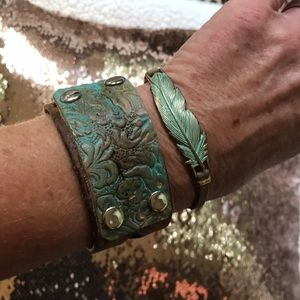 Beautiful Genuine Leather Bracelet
